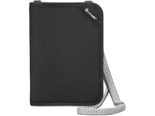 Pacsafe RFIDsafe V150 Järjestäjä-lompakko, black